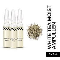 RAU White Tea Moist Ampoules 3 x 2 ml - Moisturizing Anti-Aging Concentrate