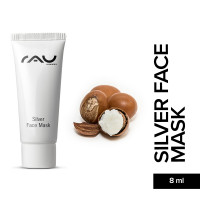 RAU Silver Face Mask 8 ml - Calming Face Mask against Impurities