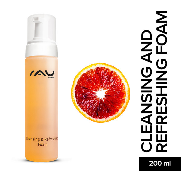 Rau Cleansing And Refreshing Foam 200 ml Gesichtspflege Hautpflege Schaum Online Shop Skin Care