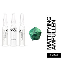 RAU Mattifying Ampoule 3 x 2 ml - Mattifier and Pore Miminizer